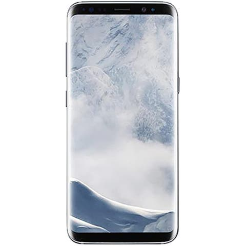 "Samsung Galaxy S8 64GB 5.8"" 4G LTE GSM Unlocked,Arctic Silver (Refurbished) - Arctic Silver"