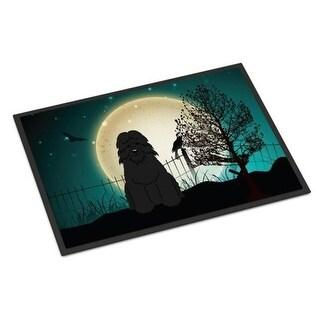 Carolines Treasures BB2264MAT Halloween Scary Bouvier Des Flandres Indoor or Outdoor Mat 18 x 0.25 x 27 in.