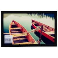 Snap 14-inch-by-8.5-inch Black Wood Frame