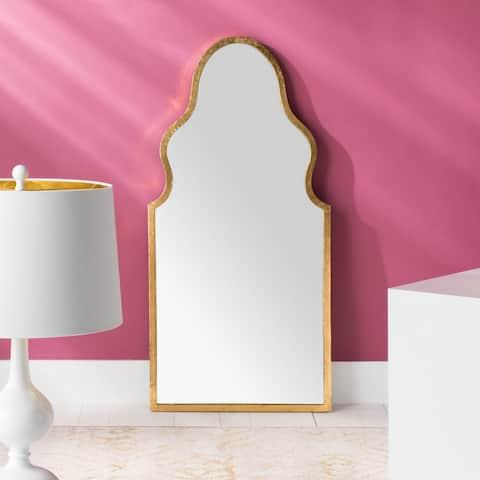 "Disney Aladdin Agrabah 15-inch Gold Moroccan Vertical Arch Mirror - 14.5"" W x 0.8"" L x 23.5"" H"