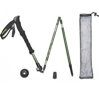 Trekking Hiking Poles Telescoping Walking Sticks Adjustable Ultralight 7075 Aluminum