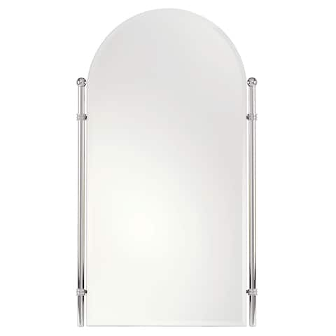 """Ginger 1142 Chelsea 26.4"""" Wall Mounted Portrait Mirror with Beveled"""