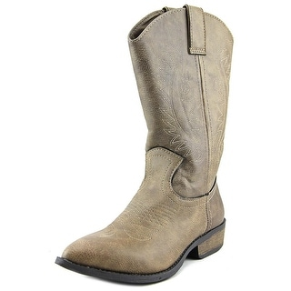 Rampage Wamblee Women Pointed Toe Synthetic Brown Western Boot