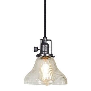 "JVI Designs 1200 S11-CR Bell Single Light 7"" Wide Mini Pendant"