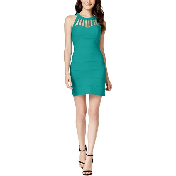 Shop Trixxi Womens Juniors Bodycon Dress Caged Fitted