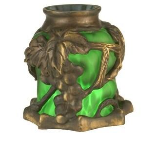 Meyda Tiffany 22128 Victorian Art Glass Gothic Grape Shade