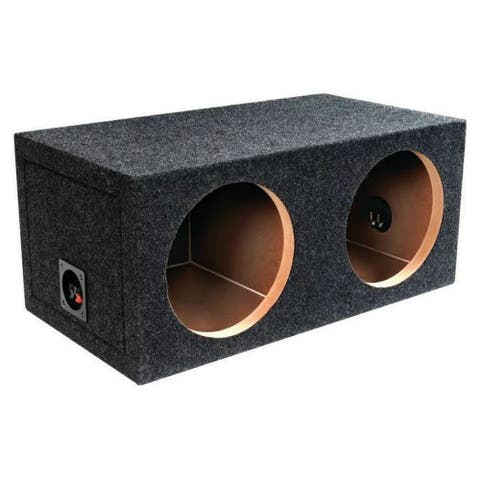 ATREND ATRE15DM Atrend E15D B Box Series 15- Inch Dual Sealed Bass Boxes - Multicolor