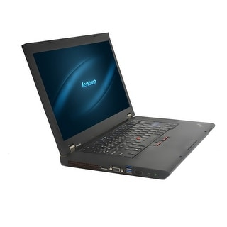 Lenovo ThinkPad W510 Core i7 1.73GHz 4GB RAM 500GB HDD DVD-RW Win 10 Pro 15.6-inch Laptop (Refurbished)