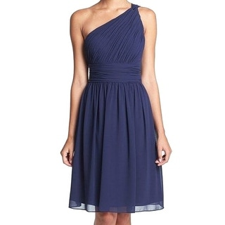 Donna Morgan NEW Blue Royal Women's Size 6 Empire Waist Pleated Dress