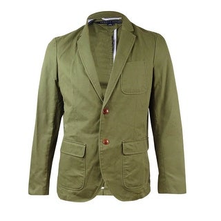 Tommy Hillfiger Men's Frederick Sport Coat (42R, Army Green)