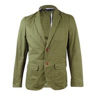 Tommy Hillfiger Men's Frederick Sport Coat (42R, Army Green) - Army Green - 42r