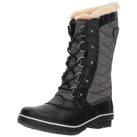 JBU Womens Lorna Closed Toe Mid-Calf Fashion Boots
