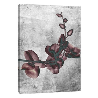 "PTM Images 9-105785  PTM Canvas Collection 10"" x 8"" - ""Flower Inversions 7"" Giclee Flowers Art Print on Canvas"