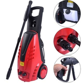 Costway Heavy Duty 2030PSI Electric High Pressure Washer 2000W 1.76GPM Jet Sprayer|https://ak1.ostkcdn.com/images/products/is/images/direct/dea46dc193f771890c56b9660ec79a0953252b34/Costway-Heavy-Duty-2030PSI-Electric-High-Pressure-Washer-2000W-1.76GPM-Jet-Sprayer.jpg?impolicy=medium