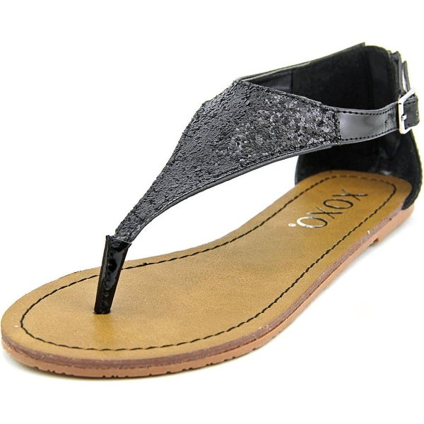 XOXO Garnet Women Black Sandals