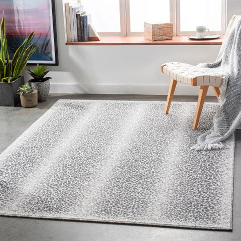 Sherrie Leopard Stripe Area Rug