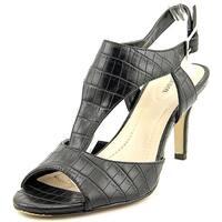 Style & Co Saharii Women  Open Toe Synthetic Black Sandals
