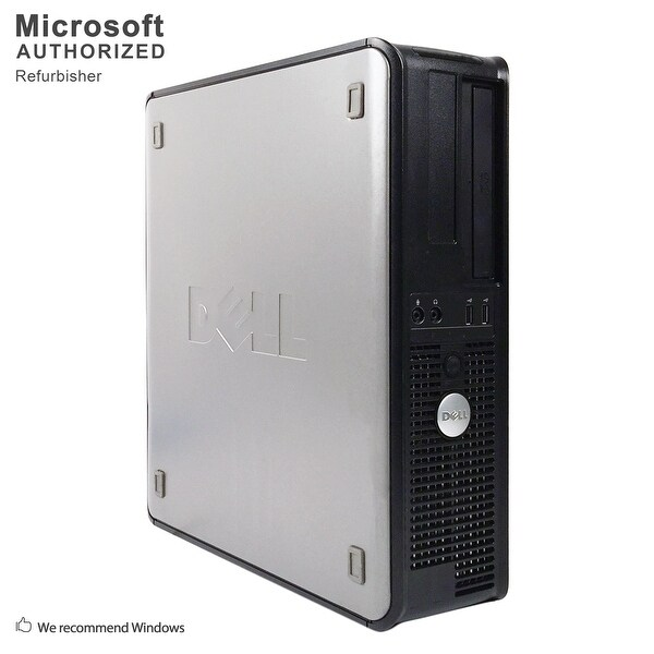 "Dell OptiPlex 745 Desktop + 22"" LCD Intel C2D E4500 2.20G, 4GB, 500GB HDD, DVD, WIFI, BT 4.0, VGA, WIN10H64(EN/ES)-Refurbished"