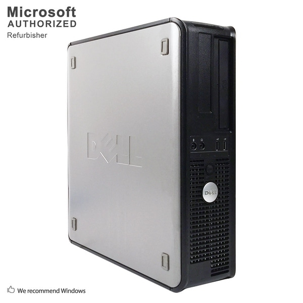 "Dell OptiPlex 755 Desktop + 22"" LCD Intel C2D E4500 2.20G, 4GB, 500GB HDD, DVD, WIFI, BT 4.0, VGA, WIN10H64(EN/ES)-Refurbished"