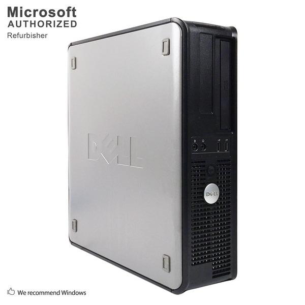 """Dell OptiPlex 755 SFF + 19"""" LCD Intel C2D E7500 2.93GHz, 4GB RAM, 160GB HDD, DVD, WIFI, BT 4.0, VGA, WIN10H64(EN/ES)-Refurbished"""