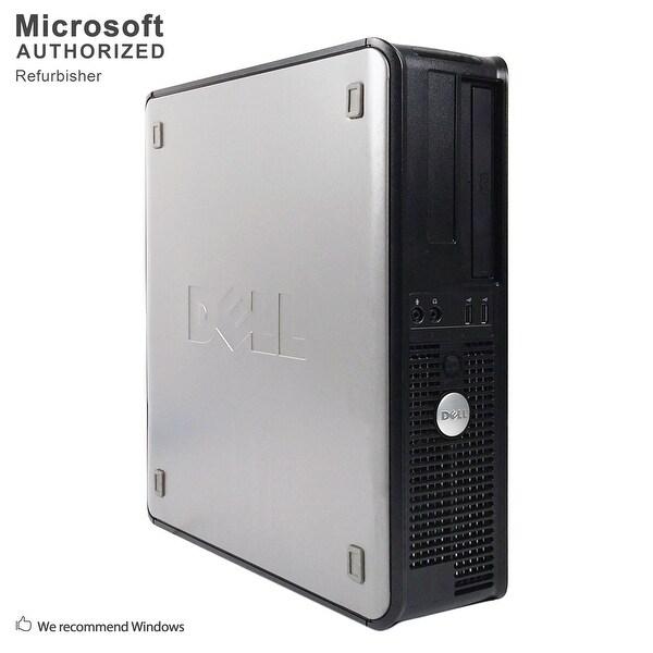"""Dell OptiPlex 755 SFF + 22"""" LCD Intel C2D E7500 2.93GHz, 4GB RAM, 160GB HDD, DVD, WIFI, BT 4.0, VGA, WIN10H64(EN/ES)-Refurbished"""