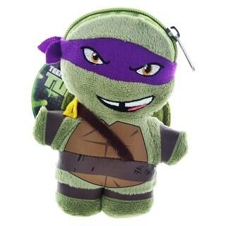 "Teenage Mutant Ninja Turtles 5"" Plush Clip-On Coin Purse: Donatello - multi"