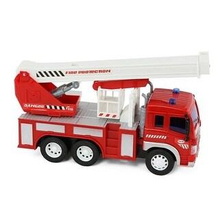 Lollipop Friction Powered Series Fire Truck