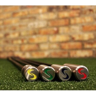 SuperSpeed Golf Coaching Golf Swing Training System 4 Piece Club Set Super Speed