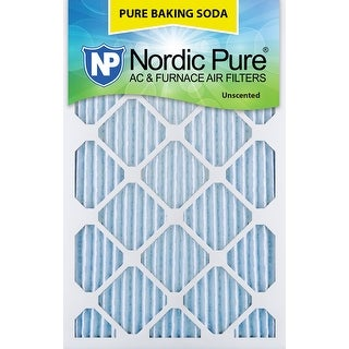 Nordic Pure 14x20x1 Pure Baking Soda AC Furnace Air Filters Qty 3