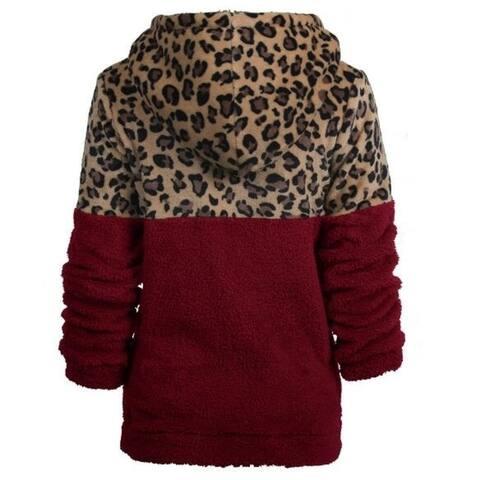 Fleece Zipper Sherpa Sweatshirt Soft Coat