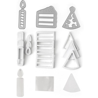 Queen & Company Shaker Shape Kit-Birthday