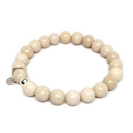 "Ivory Jade Lucy 7"" Bracelet"