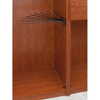 """Rev-A-Shelf CPRF-16-2 CPRF Series 16"""" Wire Fan Rack for 9 Pairs of Pants"""