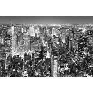 "Brewster DM626 45"" x 69"" - Midtown New York - Unpasted Vinyl Coated Paper Mural - 1 Panels"