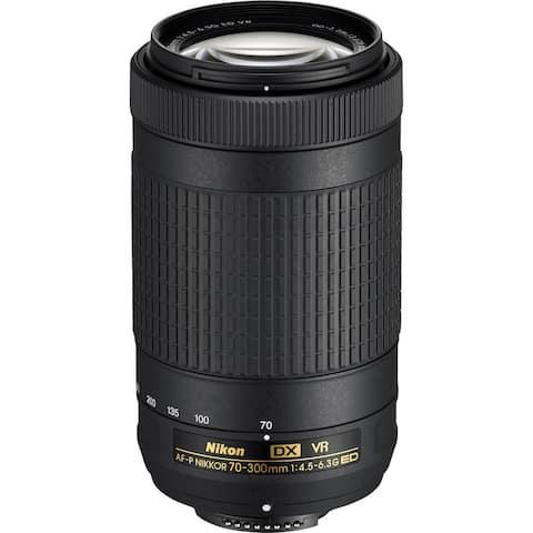 Nikon AF-P DX NIKKOR 70-300mm f/4.5-6.3G ED VR Lens for Nikon DSLR