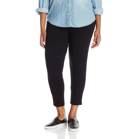 Ruby Rd. Womens Legging Deep Black Size Medium M Pull-On Knit Solid