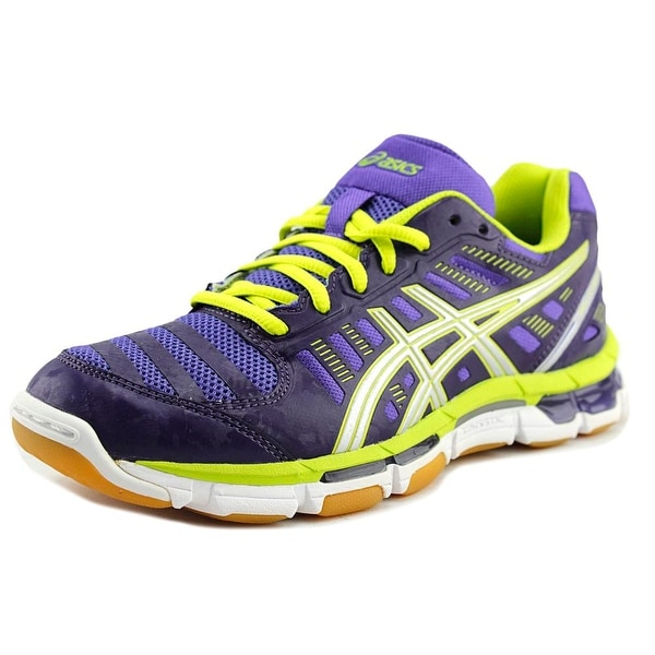 Asics Gel-Cyber Shot Women Round Toe Synthetic Purple Walking Shoe