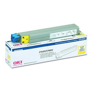 Okidata - C9600/C9800 Type C7 - Toner Cartridge - Yellow - 15000 Pages - C9600/9600Hdn/980