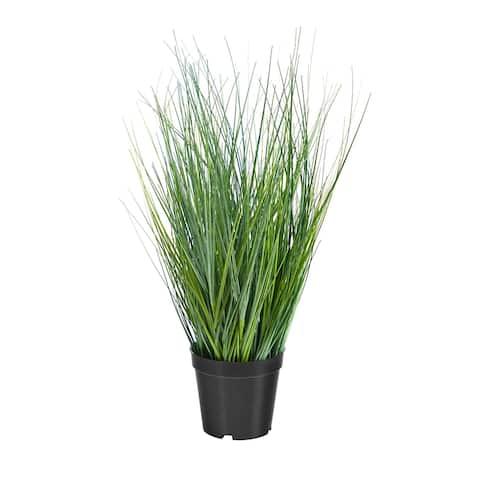 "21"" Onion Grass Artificial Plant - 6"""