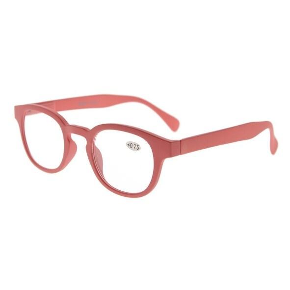 Eyekepper Stain Rainbow Reading Glasses (Rose-Red, +1.75)