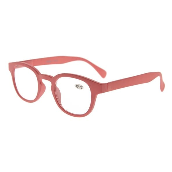 Eyekepper Stain Rainbow Reading Glasses (Rose-Red, +2.00)