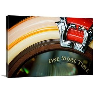 """Close-up of a jukebox"" Canvas Wall Art"