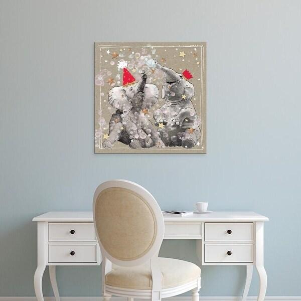 Easy Art Prints Hammond Gower's 'Fancy Pants Zoo VII' Premium Canvas Art
