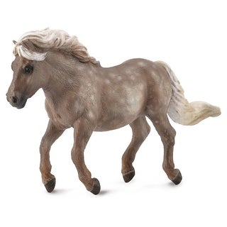 Breyer 1:18 Corral Pals Horse Collection: Silver Dapple Shetland Pony