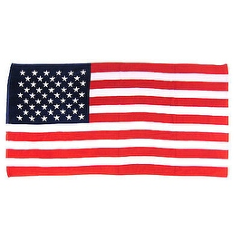 USA BEACH BATH TOWEL AMERICAN FLAG RED WHITE BLUE STARS AND STRIPES 40' X 70'