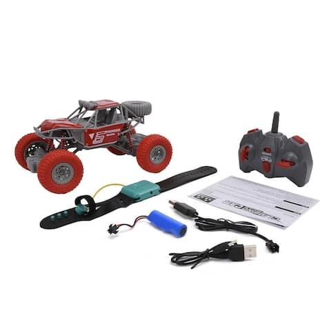 WonderPlay 1:20 RC Crawler Big Kid 6 - 9 years - Red