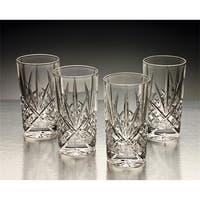 Godinger 25723 Dublin Set of Four Crystal Highball Glasses