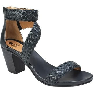 f3b5731896c9 Quick View.  53.95. White Mountain Women s Sundown Ankle Strap Sandal Black  Burnished Smooth Polyurethane
