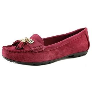 Womens Shoes Anne Klein Oates Wine Suede