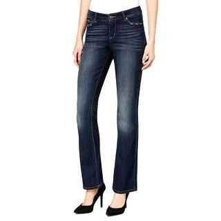 Vintage America Embroidered Boho Bootcut Jeans Pants